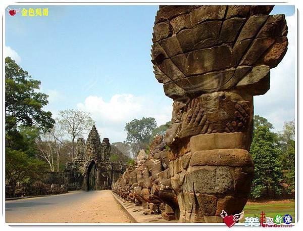 金色吳哥-大吳哥窟Angkor Thom-南大門-01