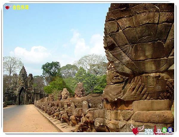 金色吳哥-大吳哥窟Angkor Thom-南大門-02