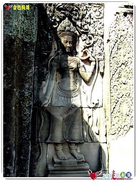 金色吳哥-大吳哥窟Angkor Thom-Bayon百因廟-52