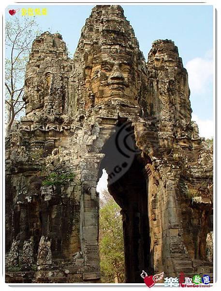 金色吳哥-大吳哥窟Angkor Thom-南大門-05