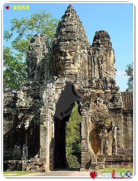 金色吳哥-大吳哥窟Angkor Thom-南大門-10