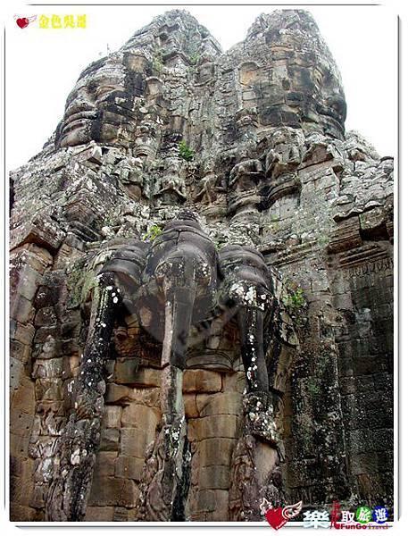 金色吳哥-大吳哥窟Angkor Thom-南大門-09