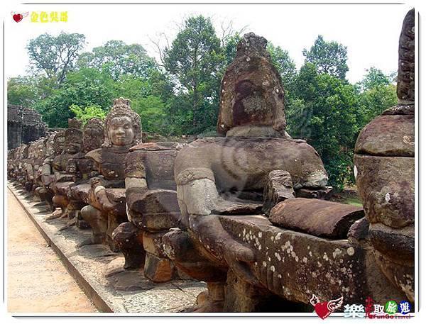 金色吳哥-大吳哥窟Angkor Thom-南大門-13