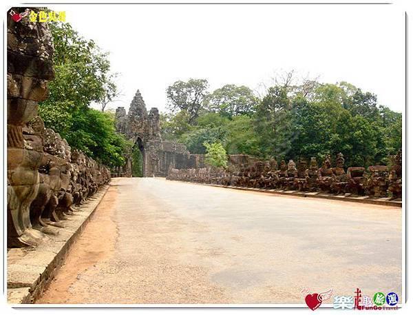 金色吳哥-大吳哥窟Angkor Thom-南大門-12