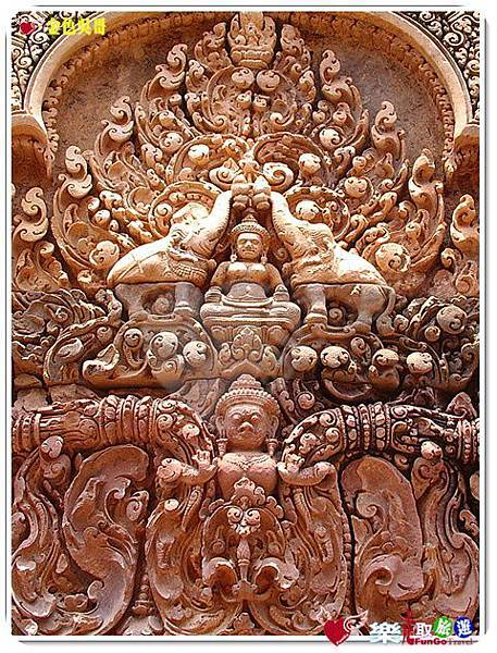 金色吳哥-女皇宮BanteaySrei-20