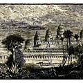 亨利·穆奧畫筆下的吳哥窟