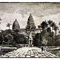 亨利·穆奧在1859年繪製的吳哥窟