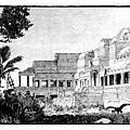Angkor Wat - Henri Mouhot sketch