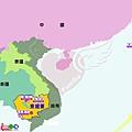 地圖-中南半島8-6-柬埔寨