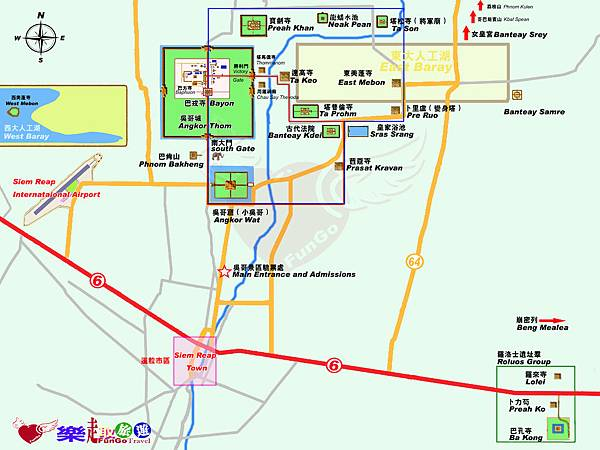 地圖-吳哥窟-全