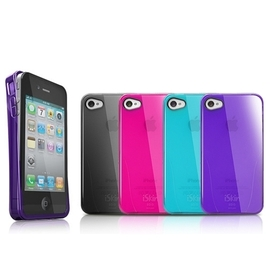 iSkin SOLO iPhone4 / iPhone4S 晶亮薄透 TPU 保護殼