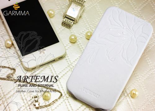 (古希臘神話-阿爾黛彌斯) GARMMA Artemis iPhone 4 / iPhone 4S 折疊式皮套