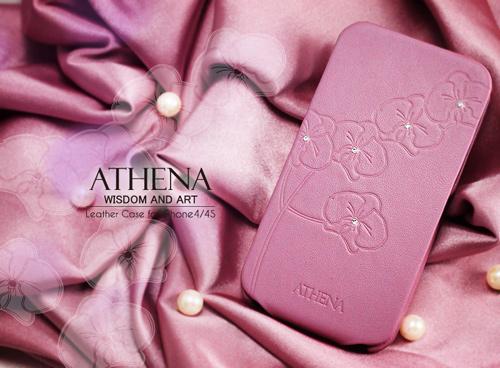 (古希臘神話-雅典娜) GARMMA ATHENA iPhone 4 / iPhone 4S 折疊式皮套