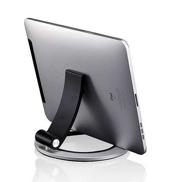 JustMobile Encore iPad 折疊式鋁質置放架