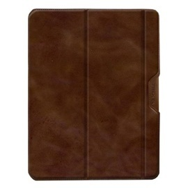 TREXTA new iPad / iPad2 SLIM FOLIO 真皮兩段式旋轉皮套/保護套(共三色)
