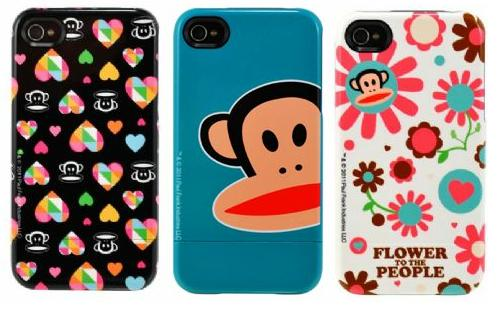 Uncommon iPhone 4 / iPhone 4S Paul Frank大嘴猴 聯名款滑蓋保護殼(共3色)