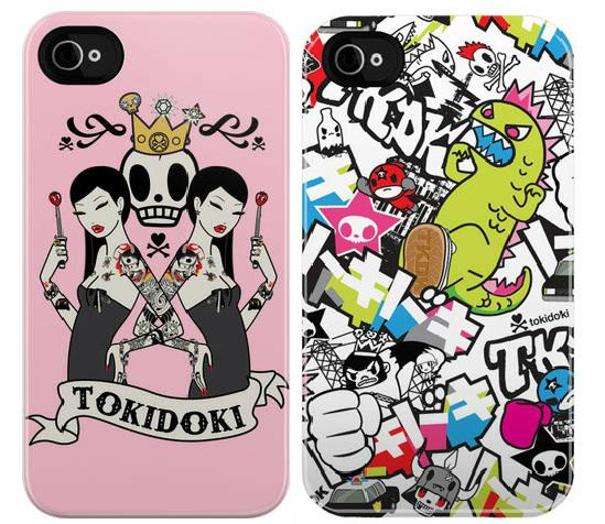 Uncommon iPhone 4 / iPhone 4S Tokidoki聯名款系列 滑蓋保護殼(共2色)