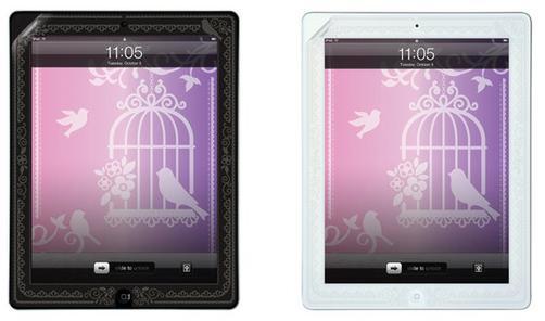 (全面出清↘43折) femme de pivot iPad 2 / The new iPad 3 澄澈浮雕螢幕保護貼(共4款)