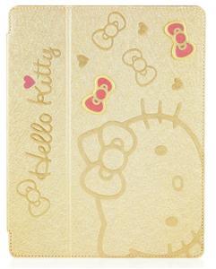 經Sanrio授權‧GARMMA Hello Kitty New iPad / iPad 2 甜美系列可立式皮套