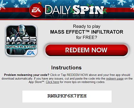 APP消息】聖誕節EA大放送,隨機拉霸送EA遊戲大作! @ Fun I Phone