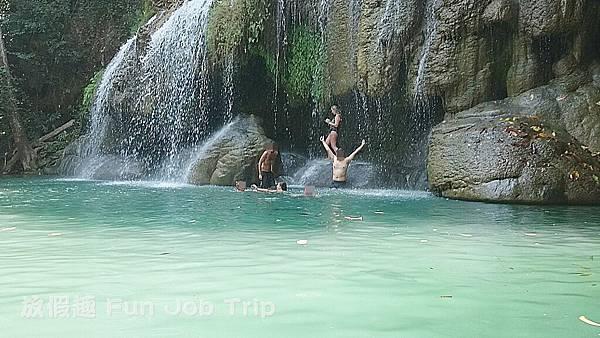 029(B)Erawan Waterfall .JPG