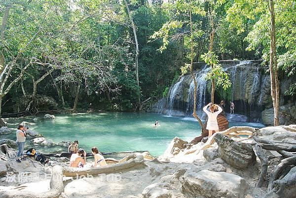053(B)Erawan Waterfall .JPG