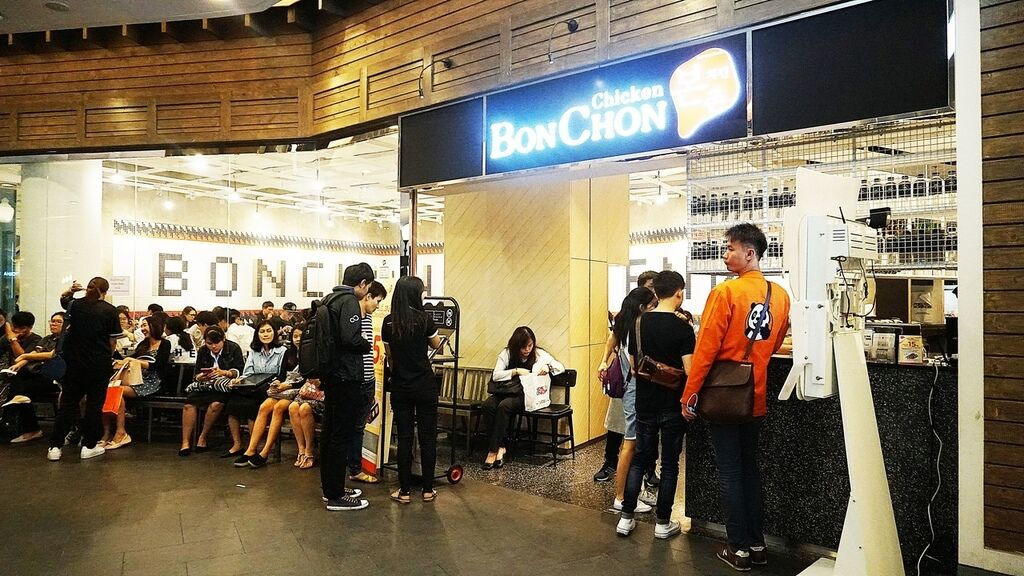 [曼谷美食]BonChon Chicken韓式炸雞@Terminal 21(BTS Asok)