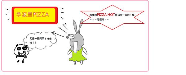 小笨兔買pizza-6