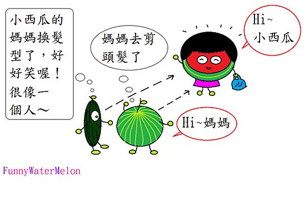 盧廣仲髮型的西瓜媽-3