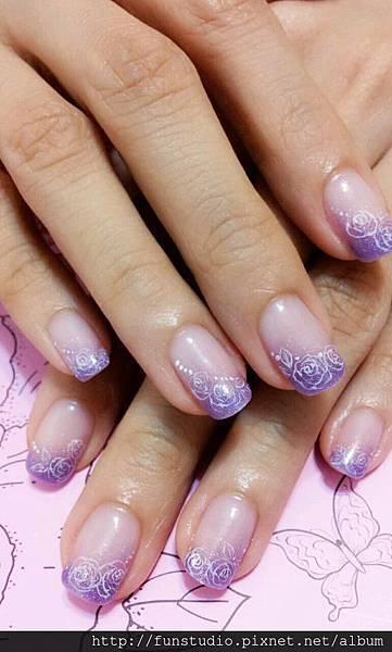 紫碎花gel