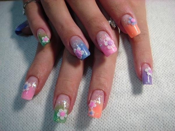 彩虹餅乾花