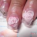 四月活動細雕玫瑰風水晶