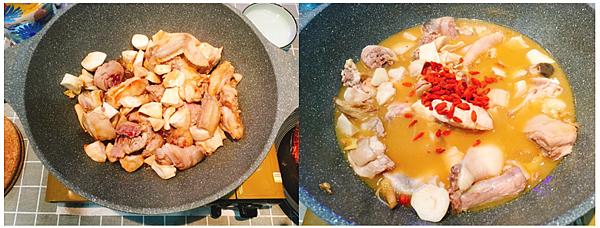 麻油雞麵線