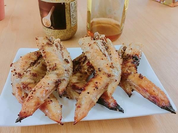 野飼崎雞法式芥末籽烤雞翅6