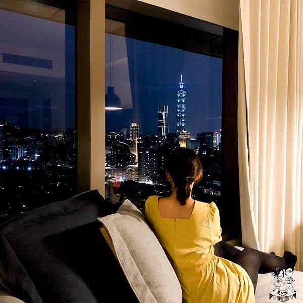 【北市│南港】松山意舍,101就在身邊的迷人景觀,飯店推薦,旅遊住宿,台北推薦
