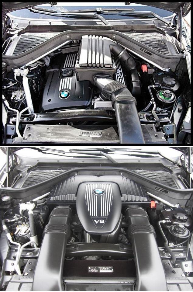2007X5引擎室