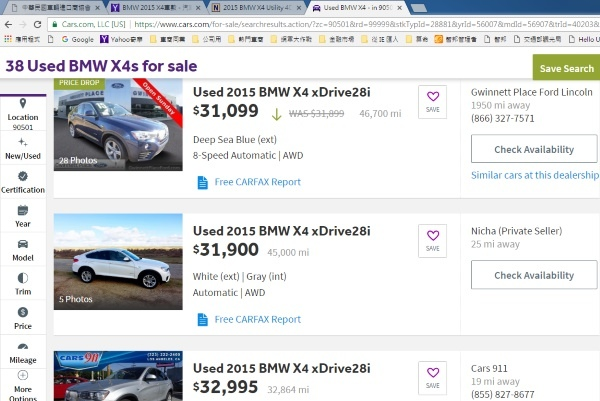 BMW X4 28I
