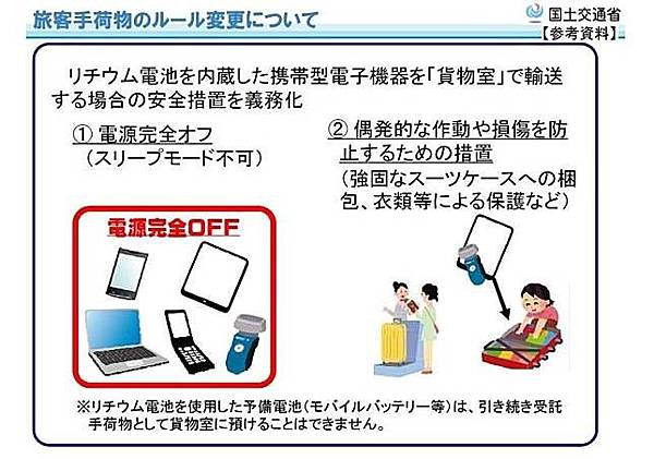 日本搭機規定