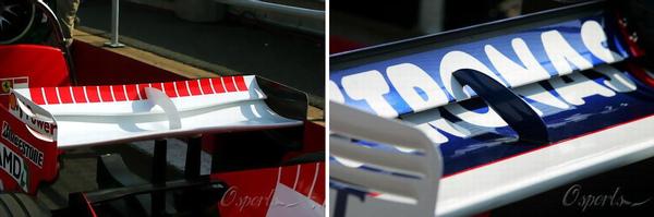 超酷的後尾翼:F1專用