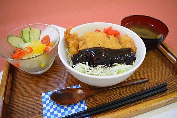 名古屋味噌豬排丼 160元