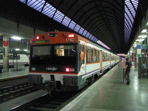 即將開往哥多華的列車