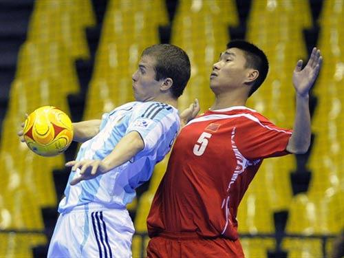 2008.10.01 Argentina - China PR