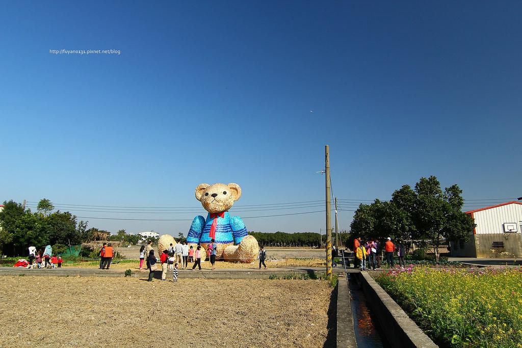 臺中地景藝術節 迷失小熊 (8)