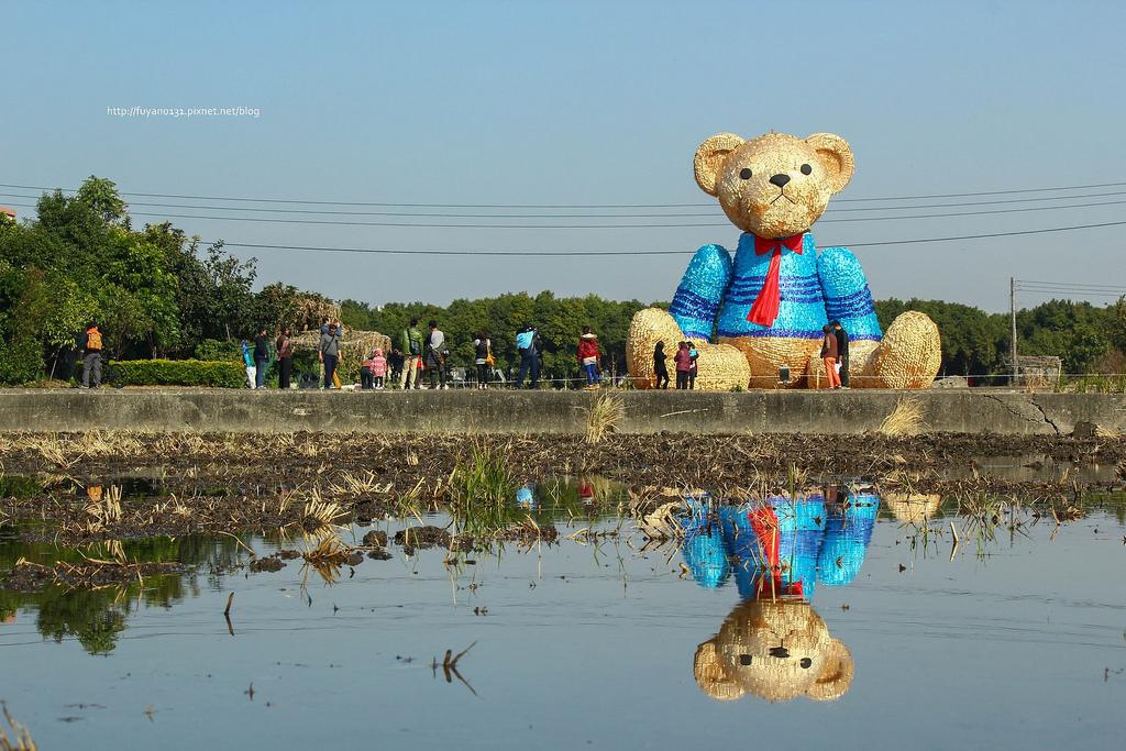 臺中地景藝術節 迷失小熊 (17)