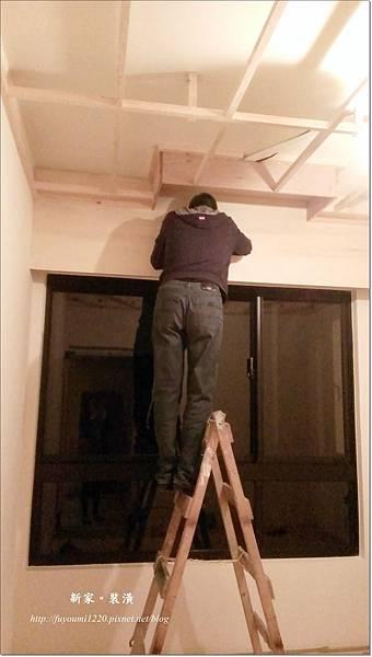 木工與冷氣銅管進場 (1)