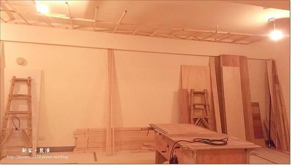 木工與冷氣銅管進場 (7)