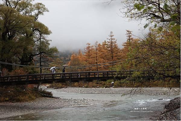 雨訪上高地-河童橋-明神池(32).JPG