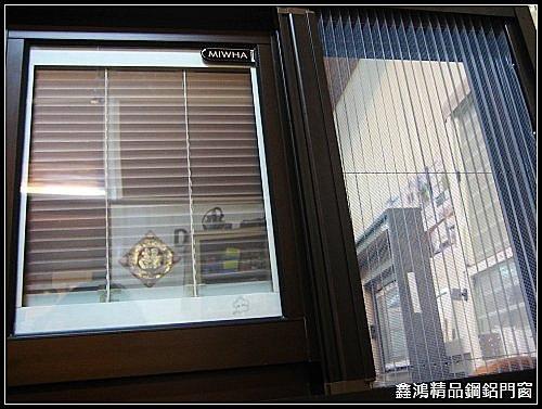 內藏百葉隔音窗