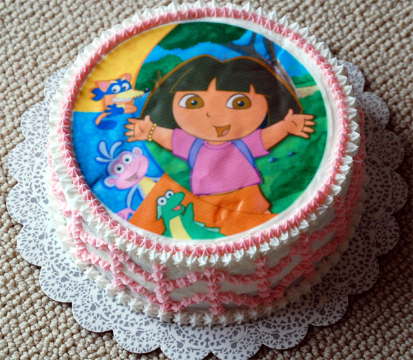 15 - 2009-07-11 dora cake