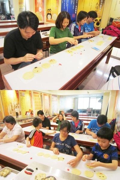 台中DIY太陽餅5